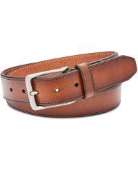 Fossil Men's Griffin Leather Belt - Multicolor