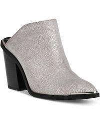 DV by Dolce Vita Nautry Block-heel Mules - White