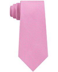 Tommy Hilfiger - Textured Solid Silk Tie - Lyst