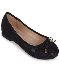 Wanted - Cate Ballerina Flat - Lyst