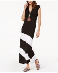 INC International Concepts - I.n.c. Petite Colorblocked Maxi Dress, Created For Macy's - Lyst