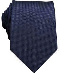 Perry Ellis Oxford Solid Tie - Blue