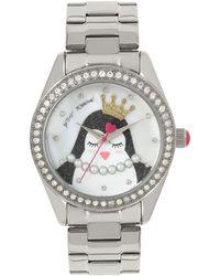 Betsey Johnson - Penguin Motif Dial Watch - Lyst