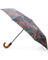 Patricia Nash Fall Tapestry Magliano Umbrella - Blue
