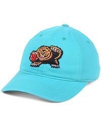 sale retailer d2651 58642 Mitchell   Ness Vancouver Grizzlies Patent Cropped Snapback Cap in Black  for Men - Lyst