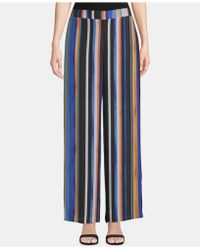 Eci Striped Pull-on Pants - Blue