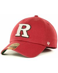 free shipping 82552 3af1e 47 Brand - Rutgers Scarlet Knights Franchise Cap - Lyst