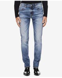 Calvin Klein - Snowbird Blue Slim-fit Jeans Ckj 026 - Lyst