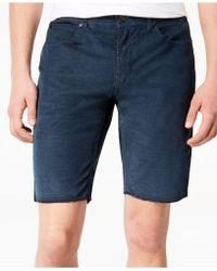 Ezekiel - Bryce Slim-fit Stretch Denim Shorts - Lyst