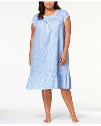 Eileen West - Waltz Plus Size Venise-lace Nightgown - Lyst