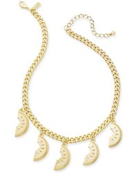 "INC International Concepts - I.n.c. Gold-tone Watermelon Statement Necklace, 18"" + 3"" Extender, Created For Macy's - Lyst"