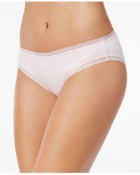Charter Club | Modern Essentials Lace-trim Bikini | Lyst