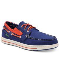 Eastland Adventure Mlb Houston Astros Boat Shoes - Blue