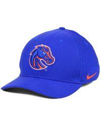 premium selection 38eb4 497d7 Nike - Boise State Broncos Classic Swoosh Cap - Lyst