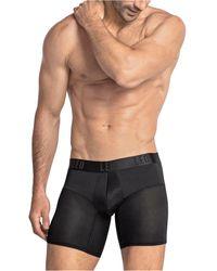 Leo Short Boxer Brief - Black