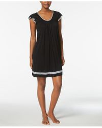 Ellen Tracy - Yours To Love Short Sleeve Chemise - Lyst