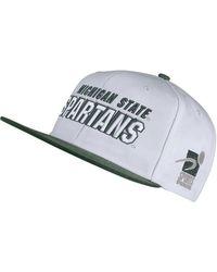 6e0d0664cbf Nike - Michigan State Spartans Sport Specialties Shadow Snapback Cap - Lyst