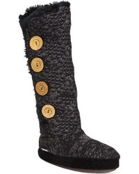 Muk Luks | ® Malena Faux-shearling Jumper Boots | Lyst