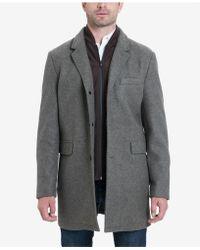 Michael Kors - Ghent Stretch Wool Top Coat - Lyst