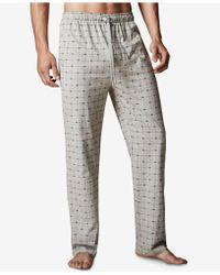 Lacoste - Men's Logo-print Cotton Pajama Pants - Lyst