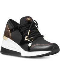 Michael Kors - Michael Liv Trainer Sneakers - Lyst