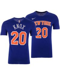 e42d75aba79 Lyst - Nike Tim Hardaway Jr. New York Knicks City Player T-shirt in ...