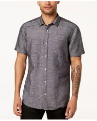 INC International Concepts - Solid Pocket Shirt, Created For Macy's - Lyst