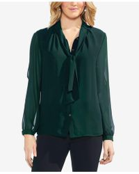 Vince Camuto - Split-sleeve Blouse - Lyst