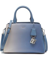DKNY Paige Ombre Satchel, Created For Macy's - Blue