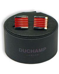 Duchamp Cufflink - Red