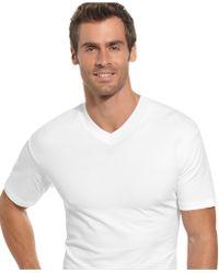 Alfani - Underwear, V Neck T Shirt 2 Pack - Lyst
