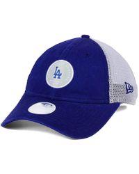 outlet store 2b5ef b24e7 KTZ - Los Angeles Dodgers Washed Trucker 9twenty Cap - Lyst