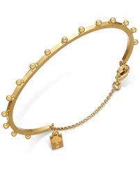 Kate Spade - Gold-tone Studded Bracelet - Lyst