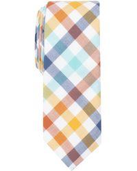 Original Penguin - Chouneau Check Skinny Tie - Lyst
