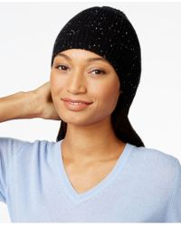Charter Club - Cashmere Donegal-knit Hat, Only At Macy's - Lyst