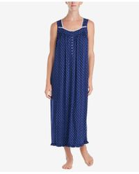 Eileen West - Petite Printed Ballet Knit Nightgown - Lyst