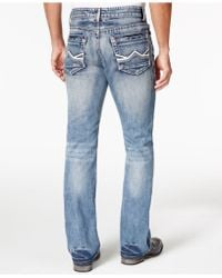 INC International Concepts Gale Bootcut Jeans - Blue