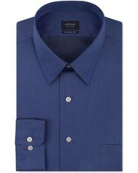 Arrow Classic-fit Non-iron Dress Shirt - Blue