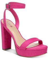 Bar Iii Ivy Platform Dress Sandals, Created For Macy's - Multicolour