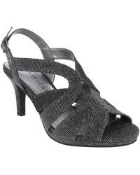 Karen Scott Belindah Slingback Dress Sandals, Created For Macy's - Black