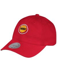 low priced 3a530 8b60d Men s Mitchell   Ness Hats - Lyst