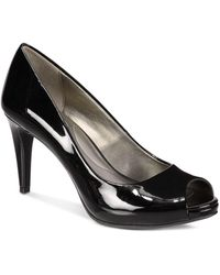 Bandolino Rainaa Peep Toe Platform Court Shoes - Black