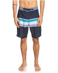 "Quiksilver - Surfsilk Sun Faded 19"" Board Shorts - Lyst"