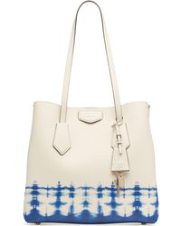 dcf35a01ba1ad4 DKNY - Sullivan Leather Tie-dyed North-south Tote, Created For Macy's -