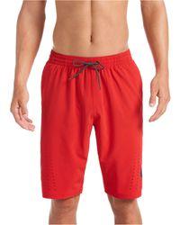 "Nike Onyx Flash Breaker 11"" Swim Trunks - Red"