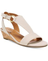 Aerosoles - Creme Brulee Wedge Sandals - Lyst