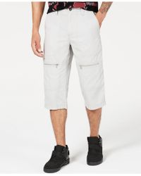 INC International Concepts Andrew Messenger Shorts, Created For Macy's - Gray