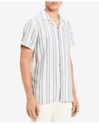 Calvin Klein Jeans - Loose Twill Striped Shirt - Lyst