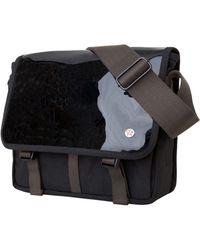 Token Metropolitan Small Enamel Dj Bag - Black