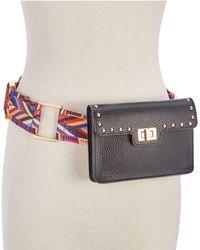 Steve Madden - Studded Turn-lock Belt Bag - Lyst